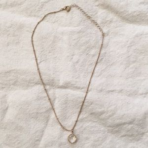 American Eagle Gold Necklace